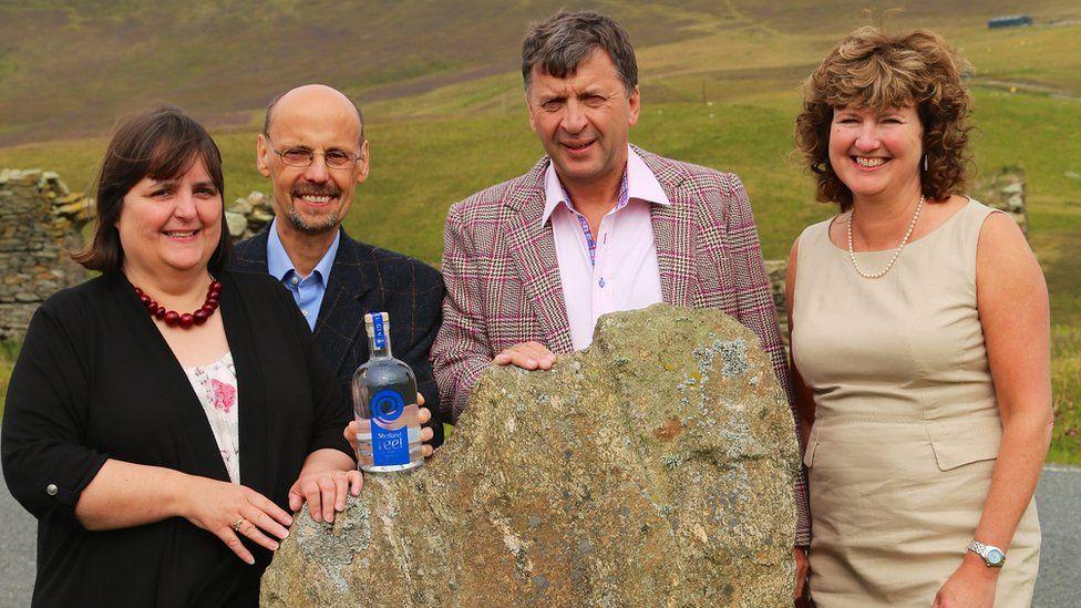 Shetland Distillery Company founders