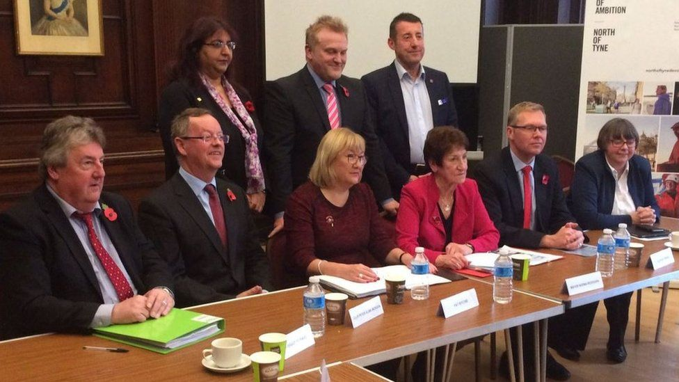 North of Tyne Combined Authority meeting