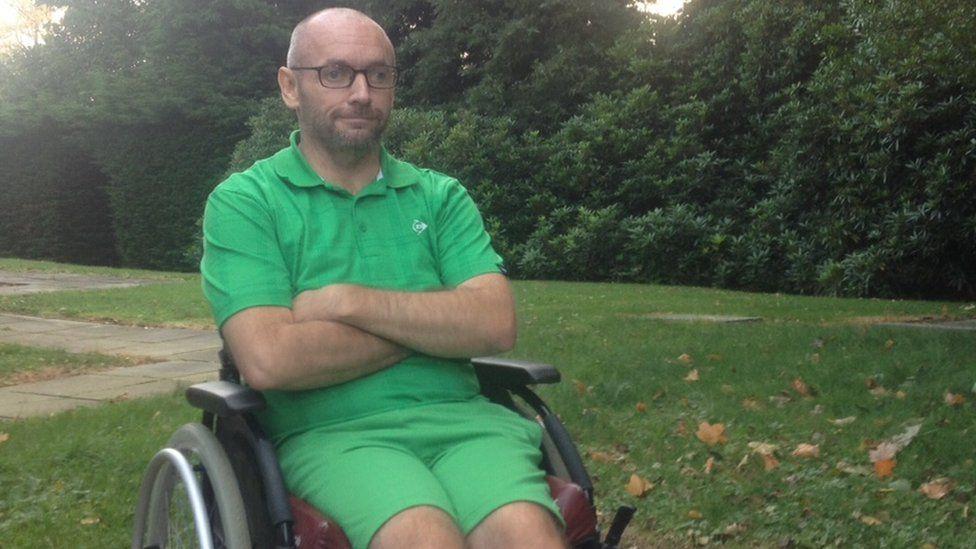 Transplant patient John McGinley