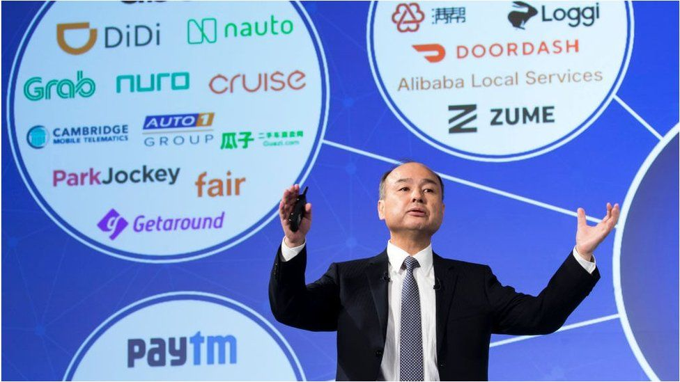 SoftBank Group Corp. Chairman and CEO Masayoshi Son
