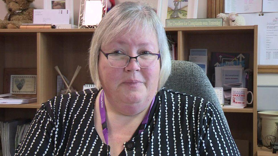 Sperrinview Special School principal, Paula Jordan