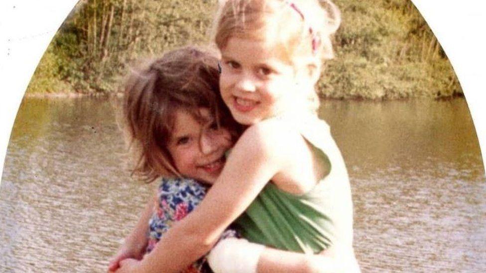 Princess Eugenie with older sister Princess Beatrice