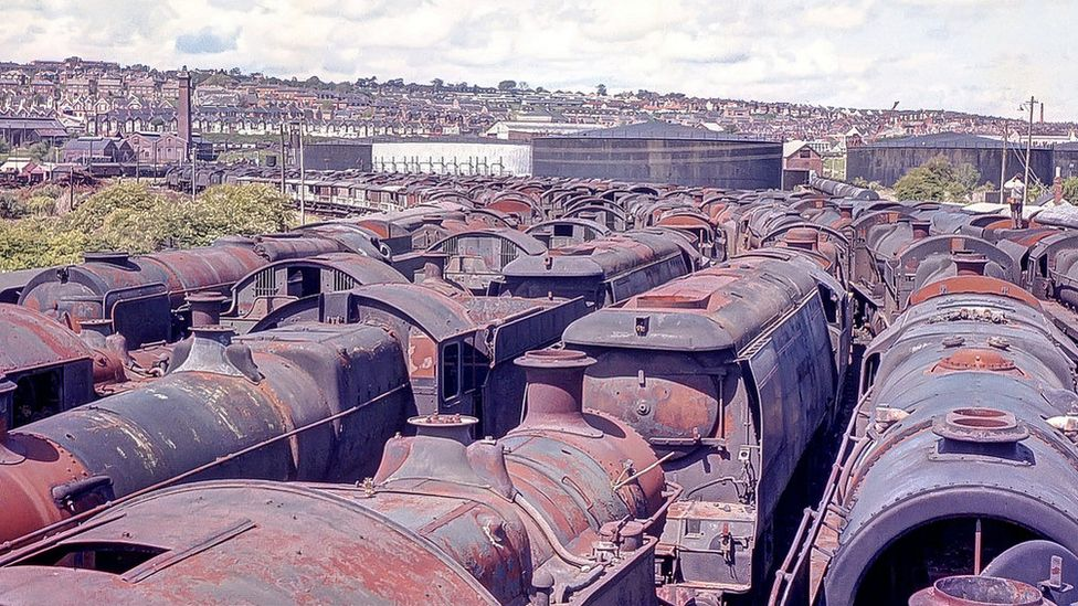 More than 80% of steam locomotives on heritage railways in the UK today can be traced back to Woodham's