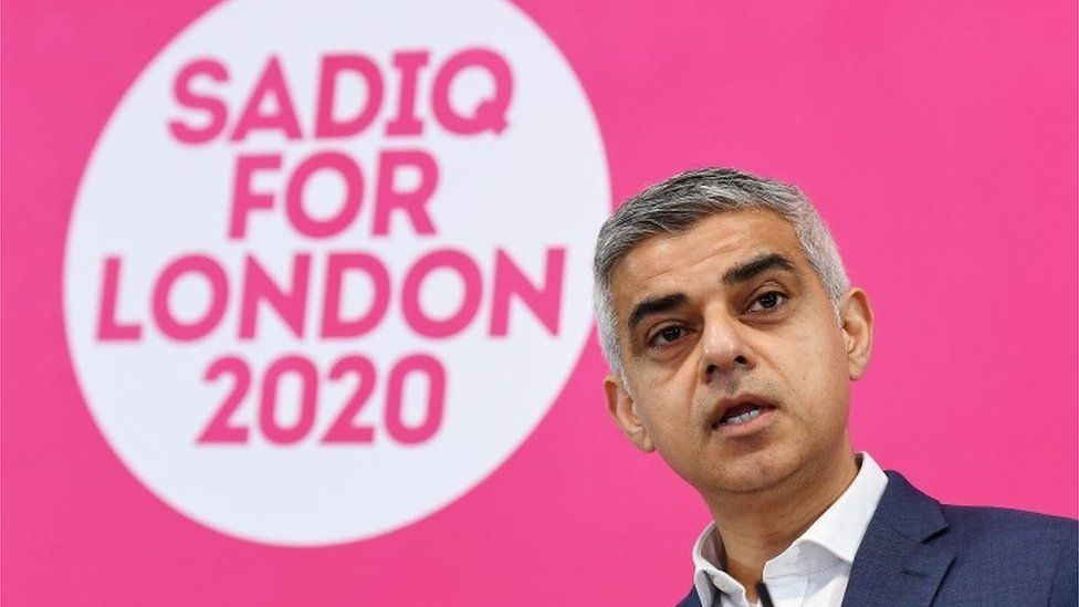 Sadiq Khan speaking at launch event