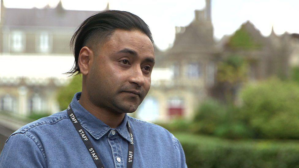 Asad Rahman - head of welfare, advice and support