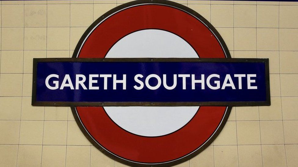 Renamed Southgate station
