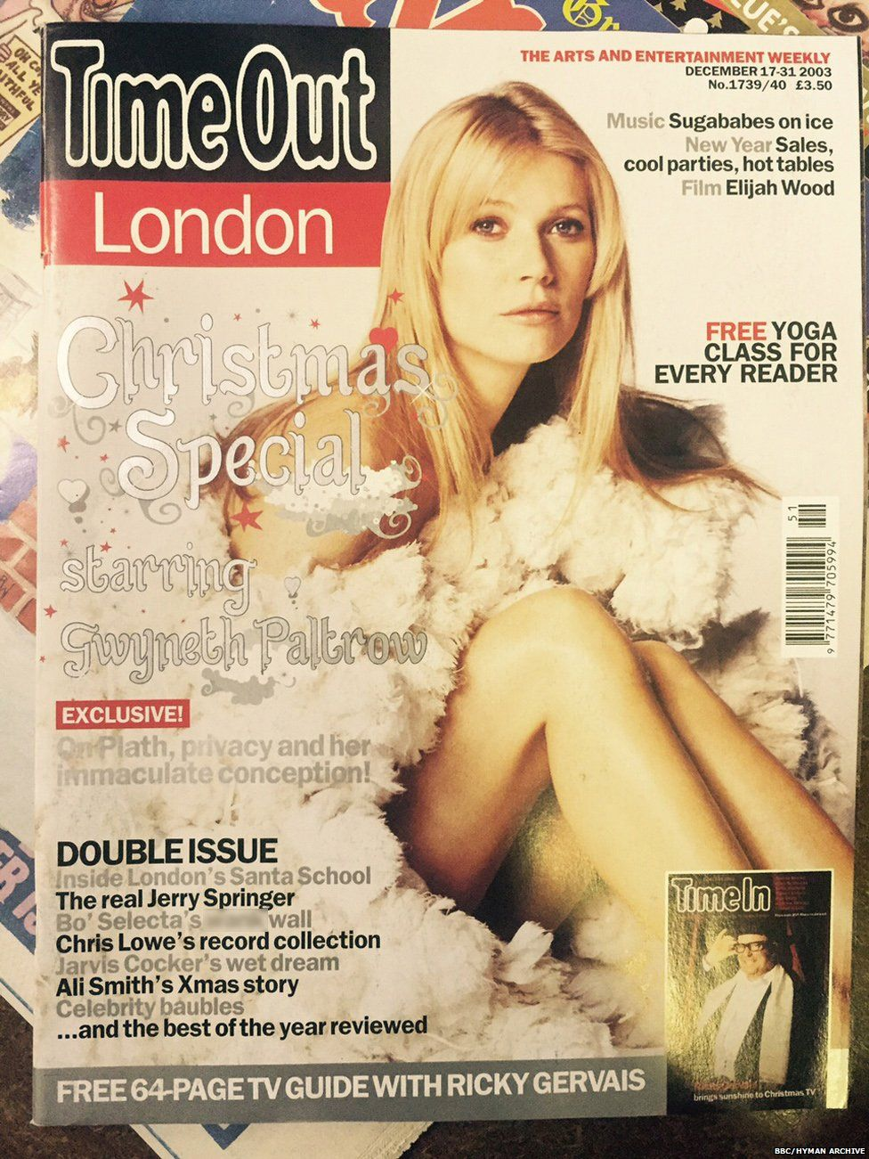 Gwyneth Paltrow on Time Out, 2003