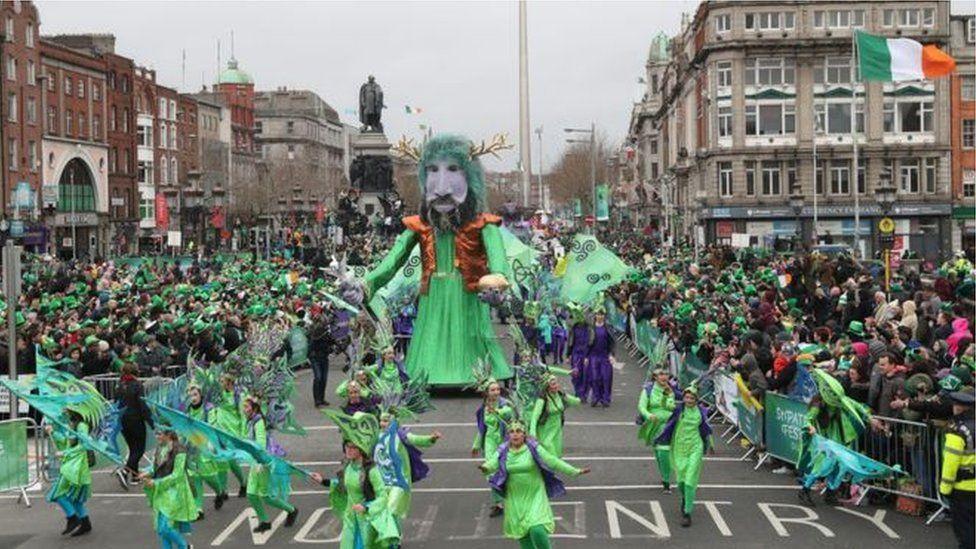 Dublin parade from 2017