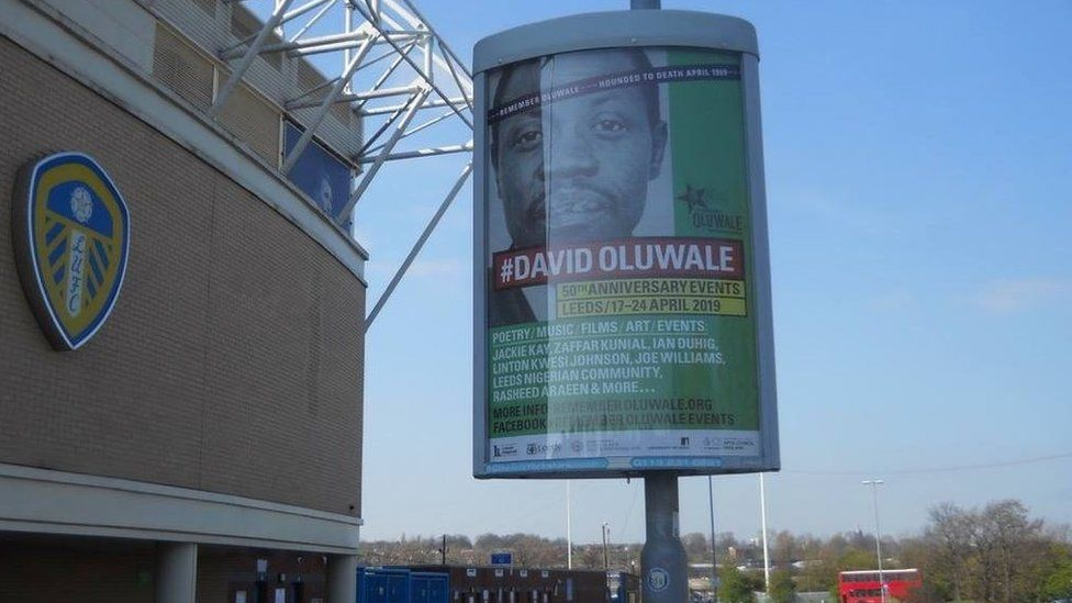 Poster at Leeds United