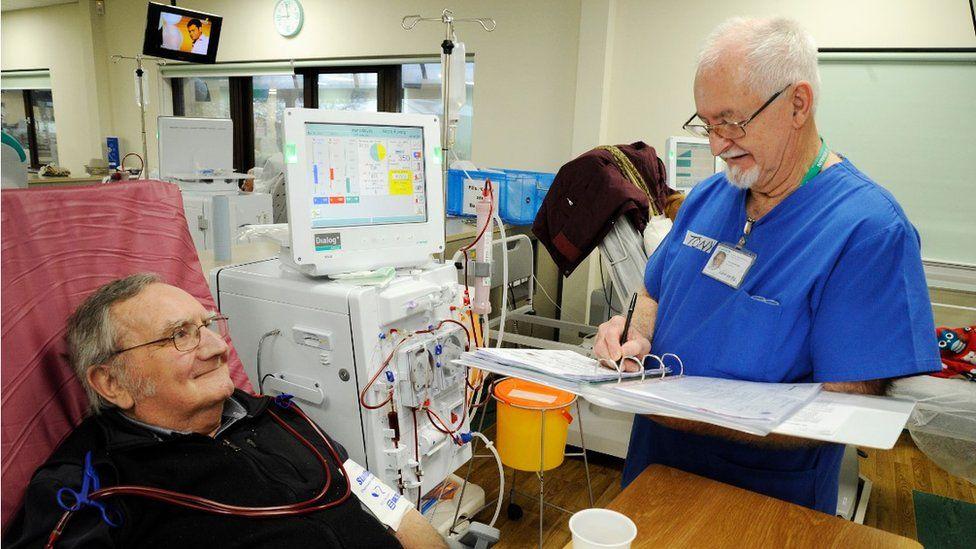 A renal unit in Newport