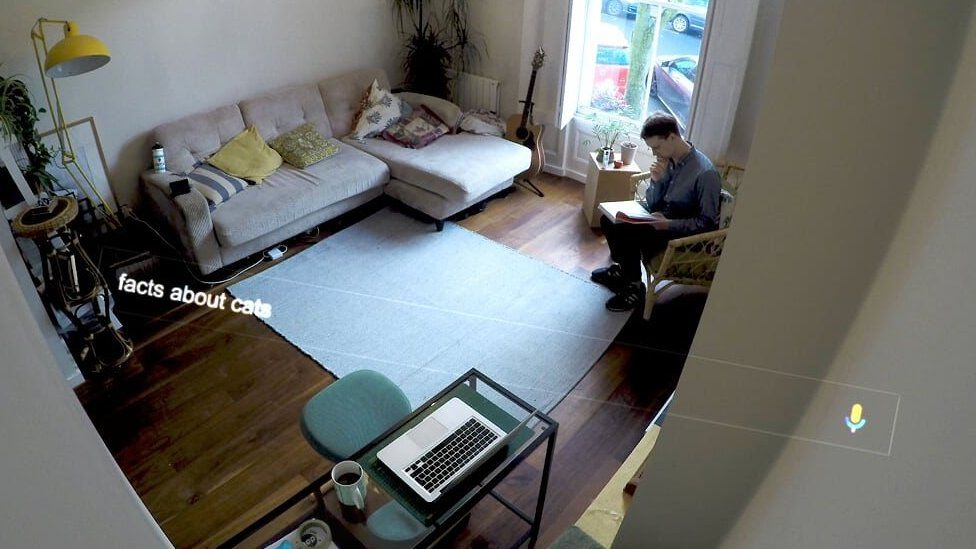 Stephen Beckett at work