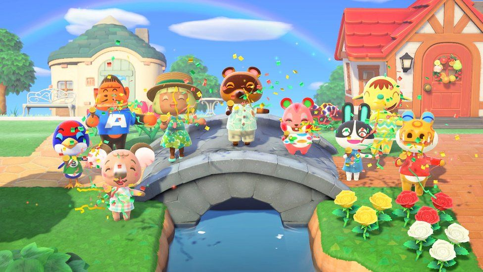 A still from Animal Crossing