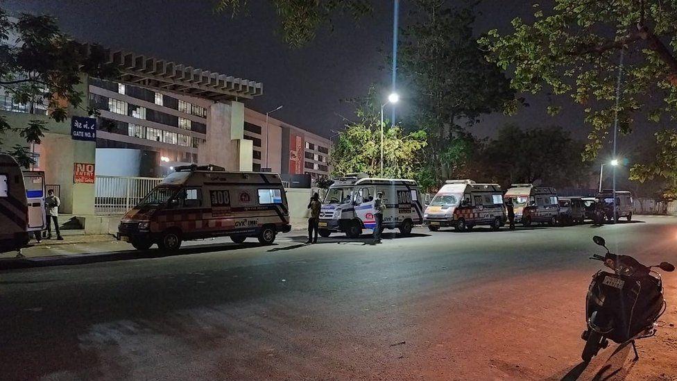 Ahmedabad hospital