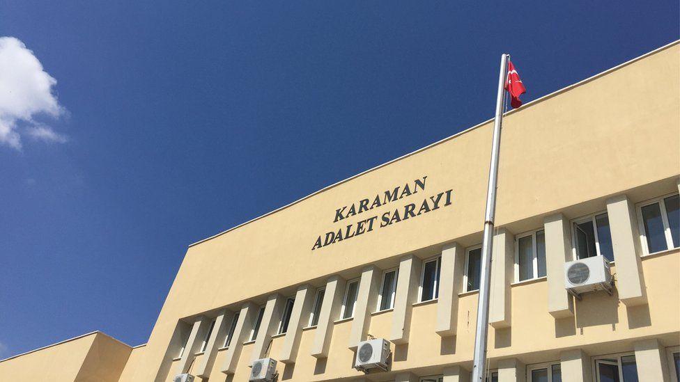 Karaman courthouse