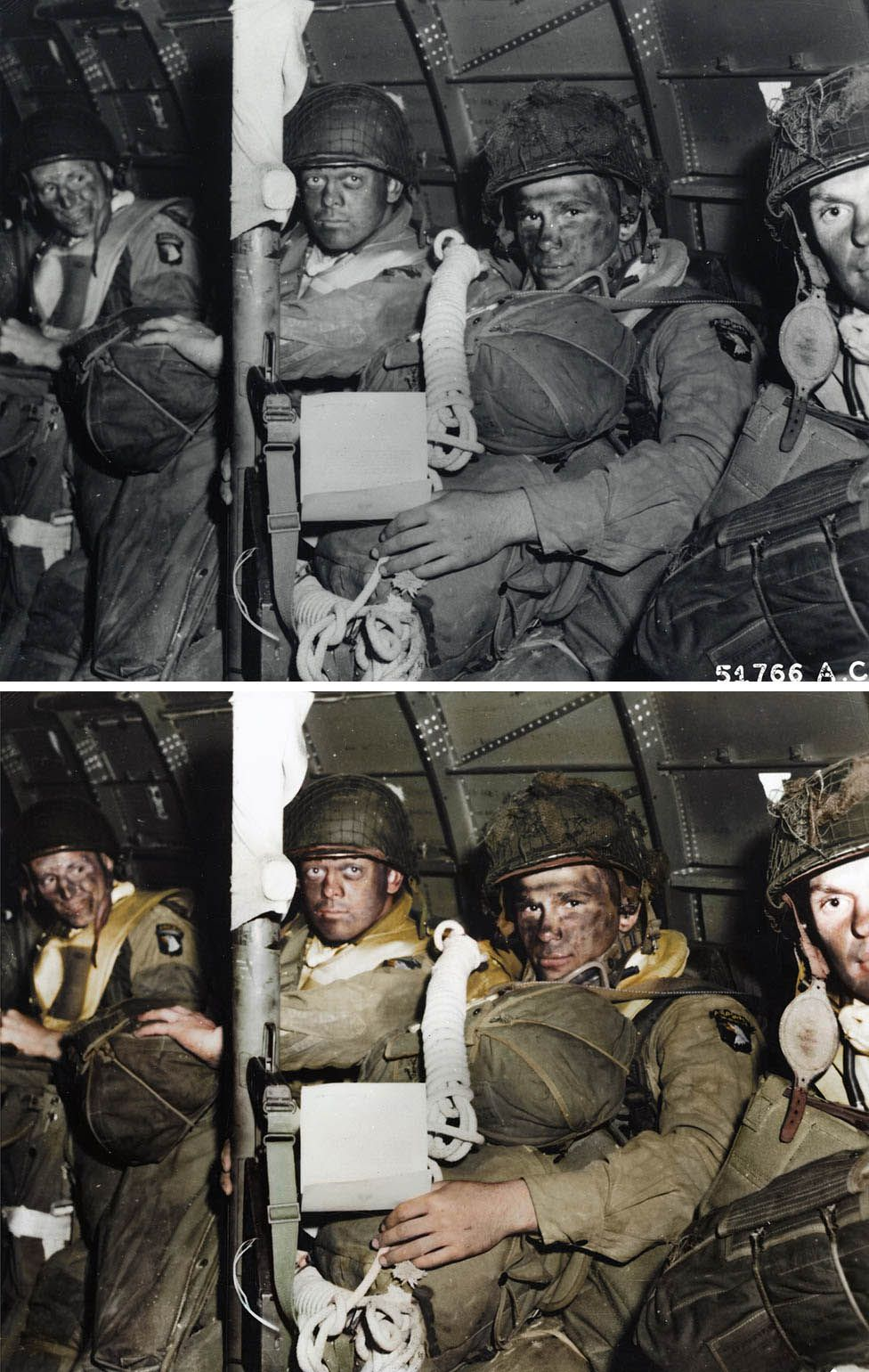 Troops from the 101st Airborne