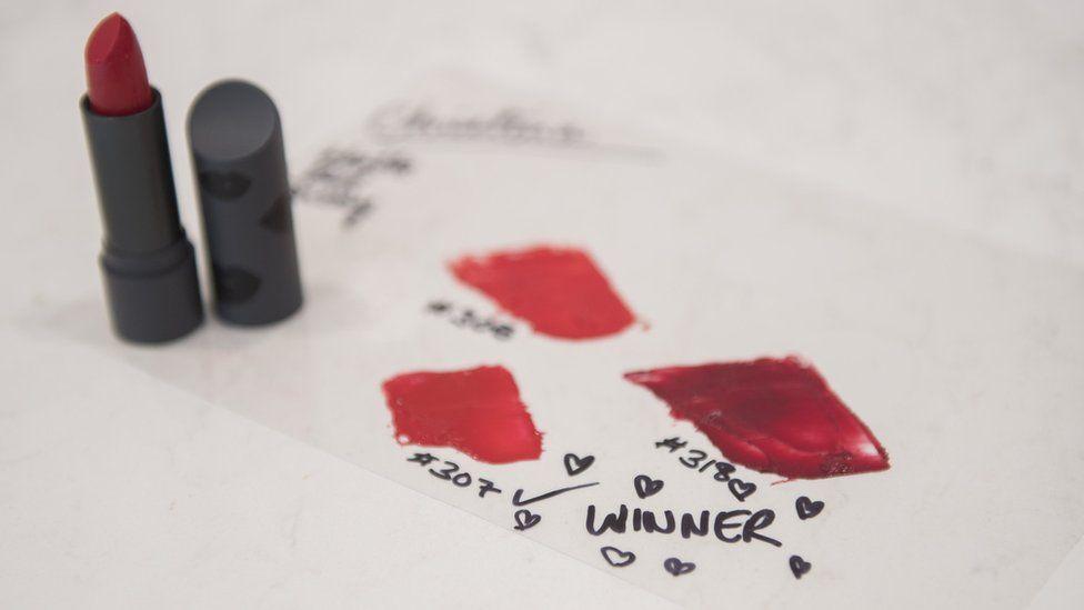 Red lipstick colours