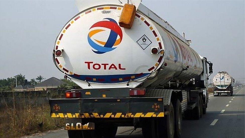 Total Oil truck