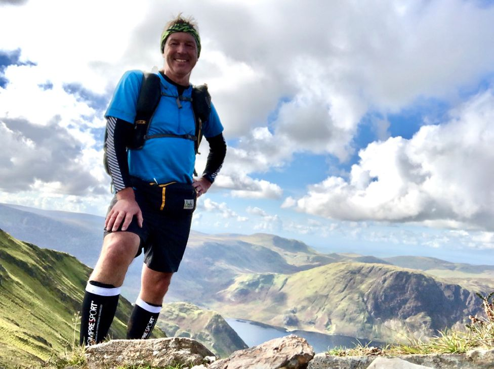 Andy Dickson above Crummock Water