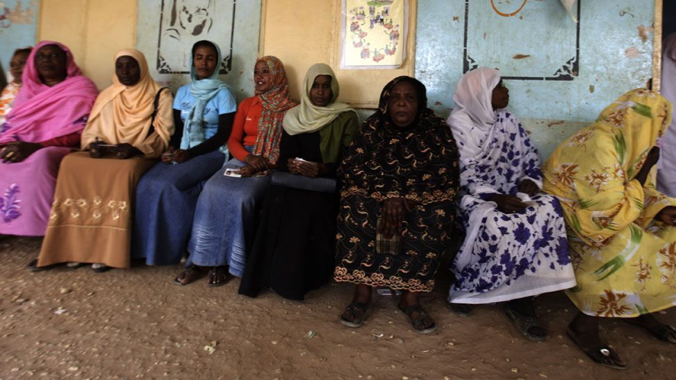 Sudanese women (file photo)