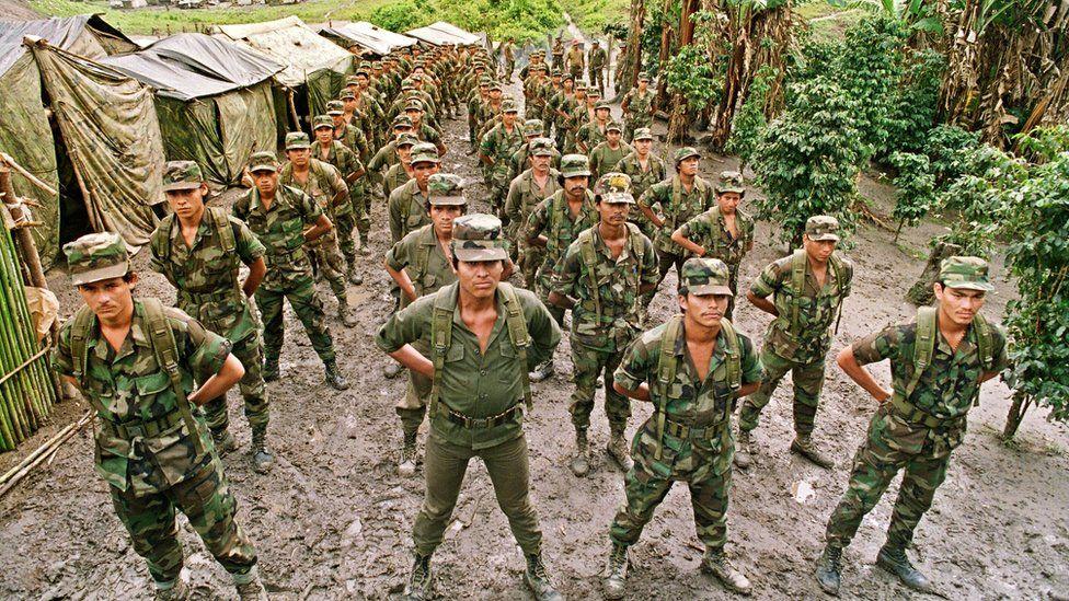 Nicaraguan Contra rebels in Honduras