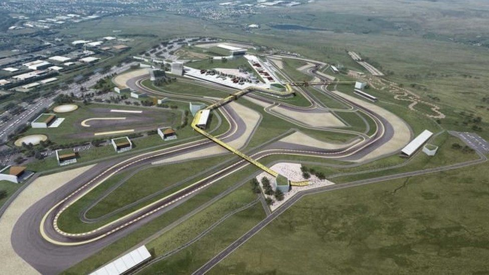 Circuit of Wales artist impression