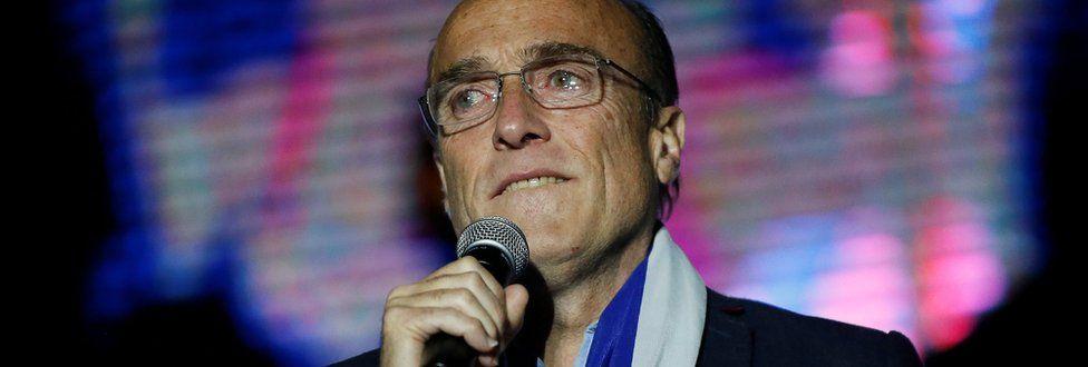 Uruguay's presidential candidate Daniel Martinez