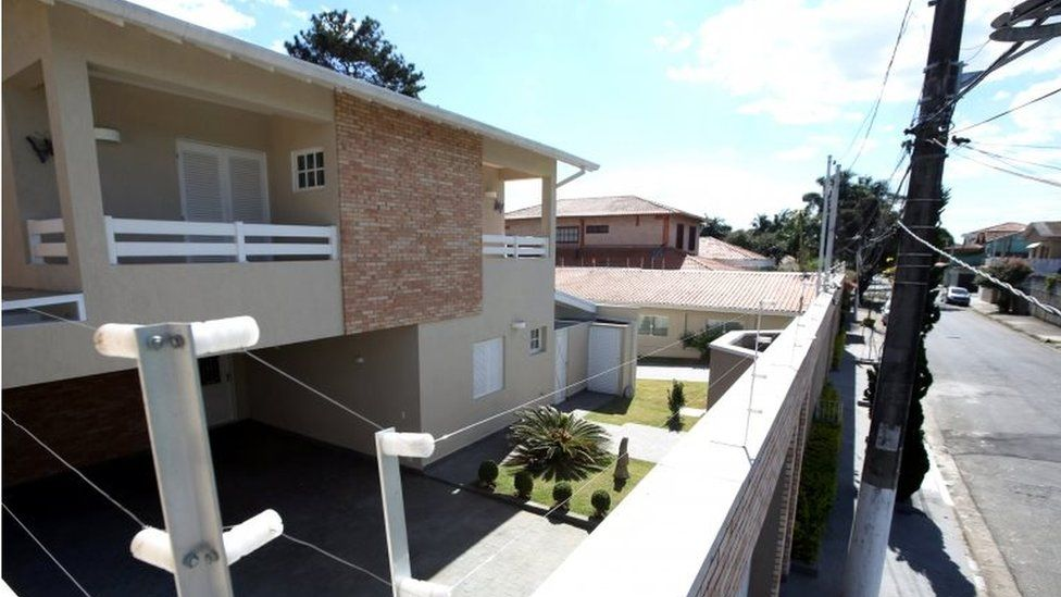 A general view is seen of the house of Aparecida Schunck, the mother of Formula One chief Bernie Ecclestone's wife, Fabiana Flosi, who was kidnapped in Sao Paulo, according to reports in a leading Brazilian news magazine, Brazil, July 26, 2016.