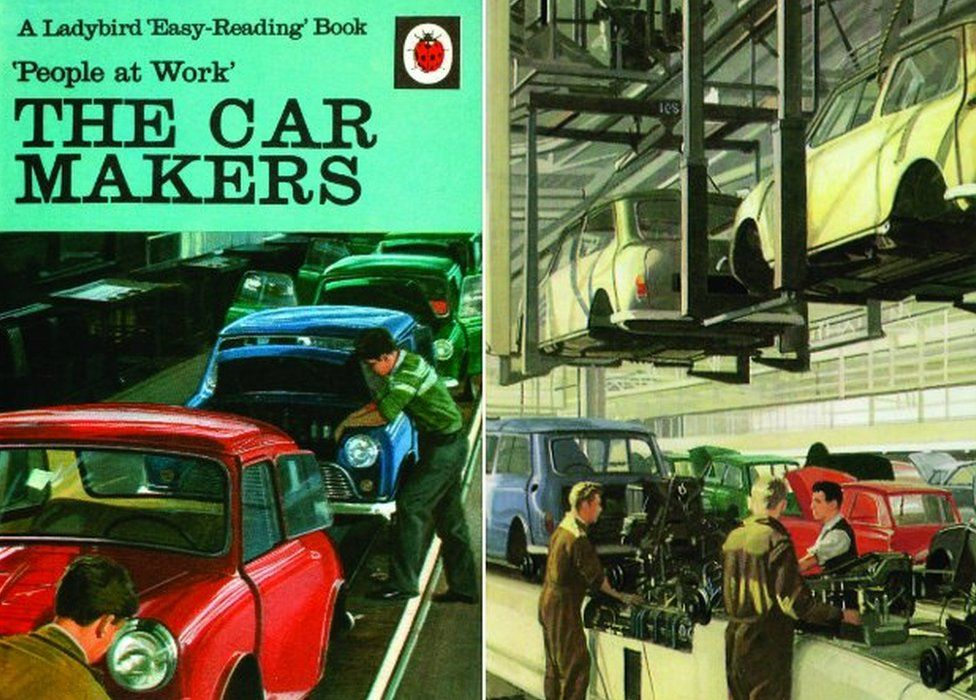 Ladybird Books Exhibition Of Literary Time Capsules Bbc News