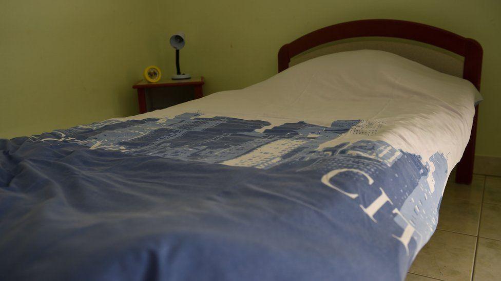 Bedroom at Pontourny
