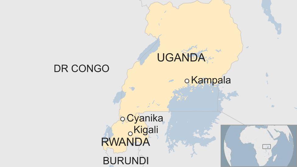 How the Rwanda-Uganda border crossing came to a halt - BBC News