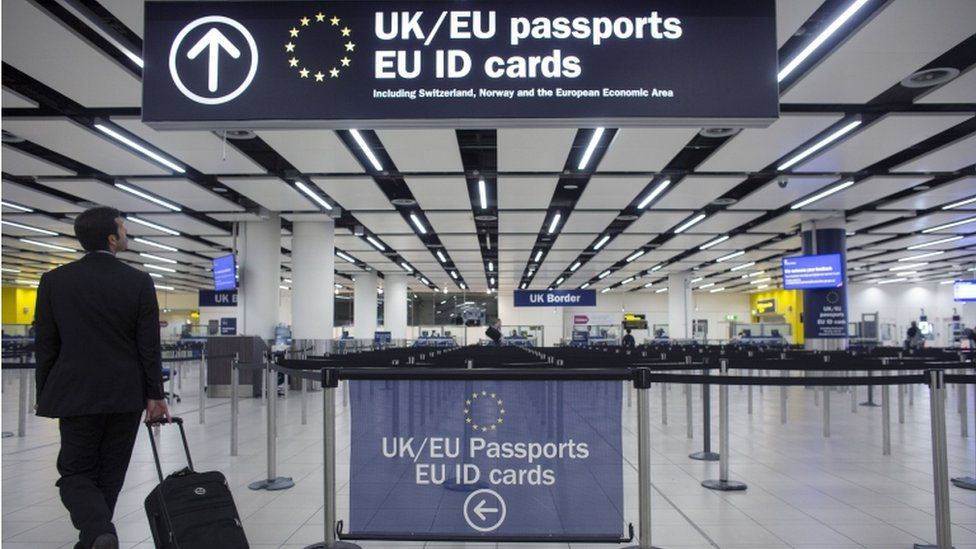 Brexit: EU migration rules 'to end straight after no-deal'