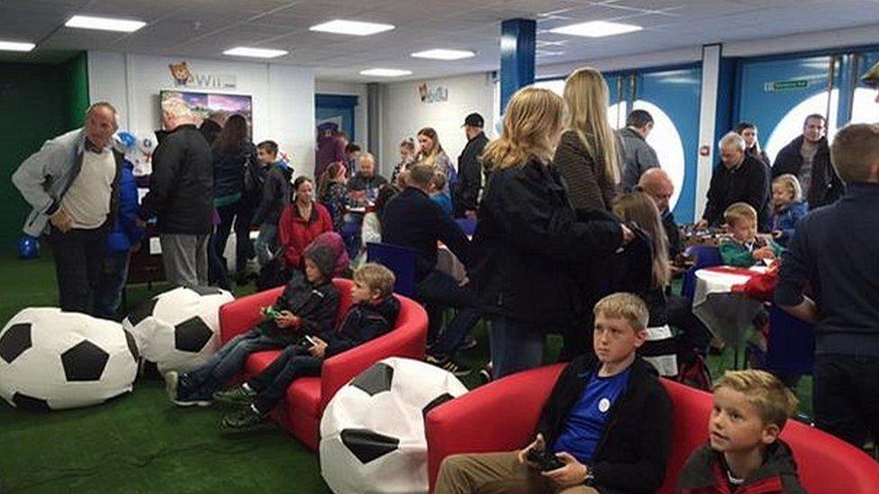 Carlisle United family zone