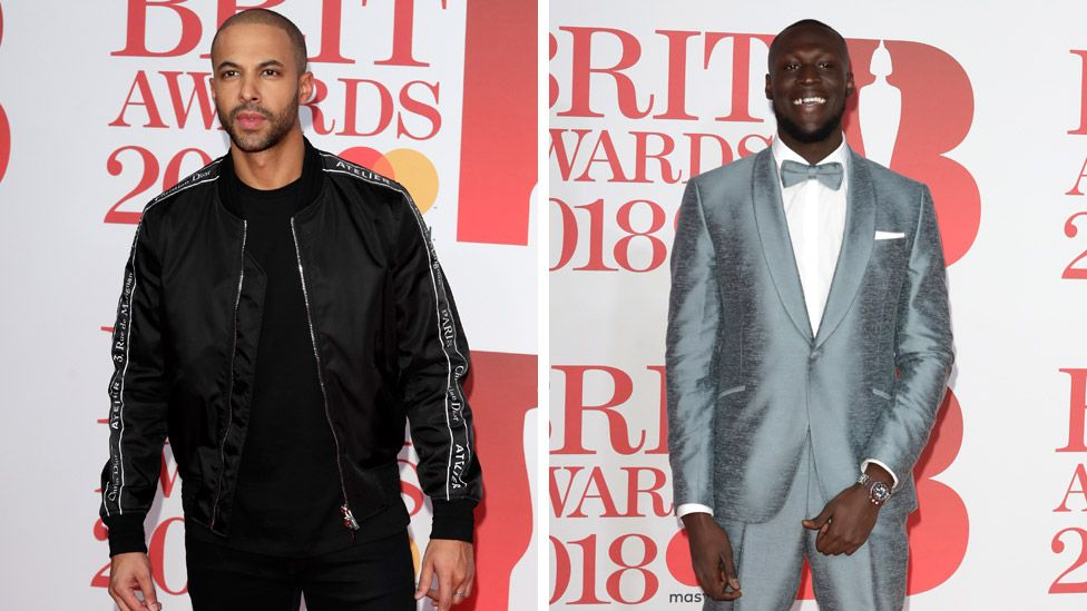 Marvin Humes and Stormzy