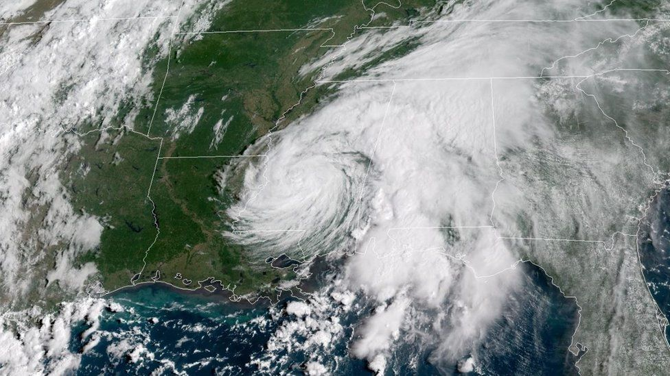 The storm will carry rain into the US southern interior, forecasters say