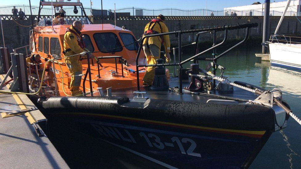 Lowestoft lifeboat