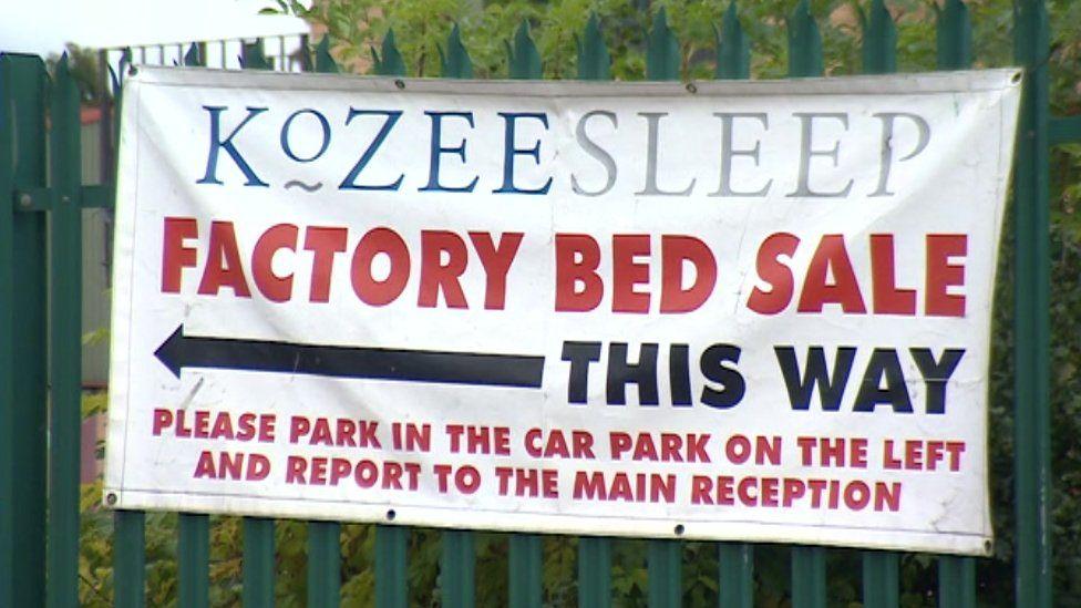 Kozee Sleep sign