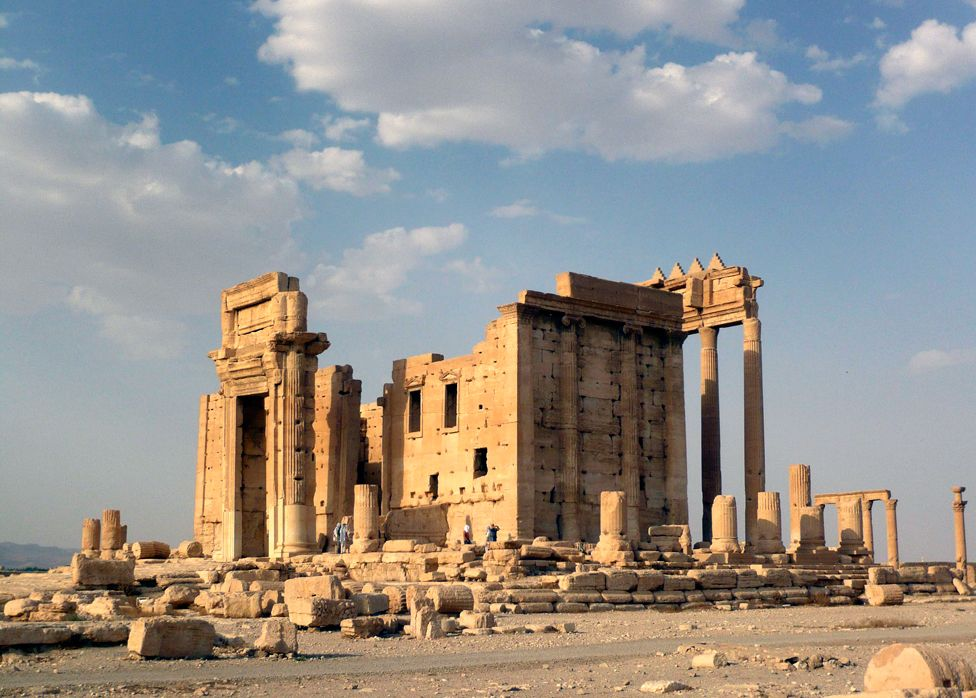 Palmyra - Temple of Bel