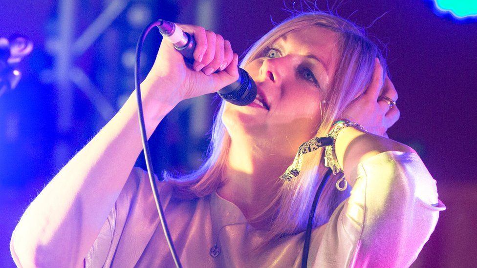 Jane Weaver has previously toured around Europe in a van with her band