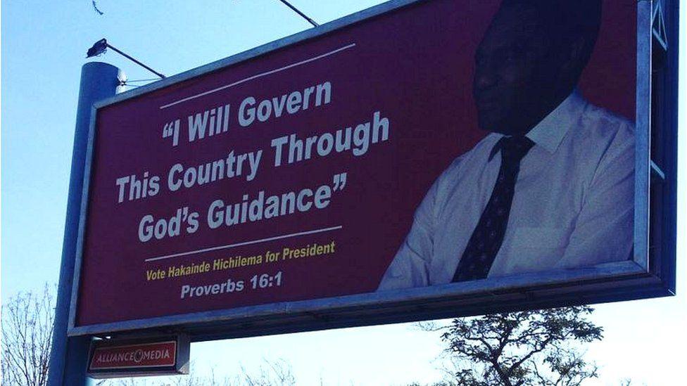 Hakainde Hichilema poster