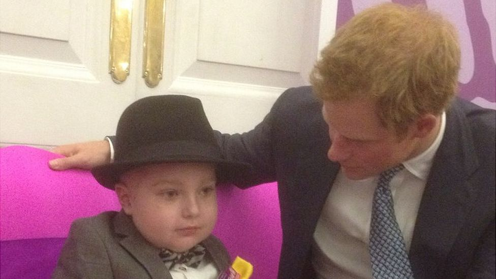 Laughlin and Prince Harry