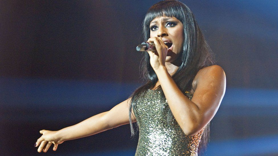 Alexandra Burke was another star to rise to fame through The X Factor
