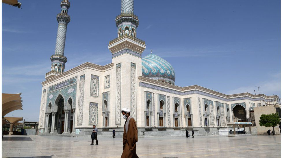 Imam Hasan Al-Askari Mosque in Qom has been closed since the outbreak