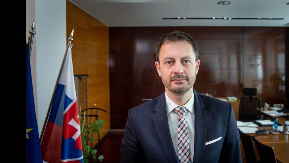 Slovak Prime Minister Eduard Heger