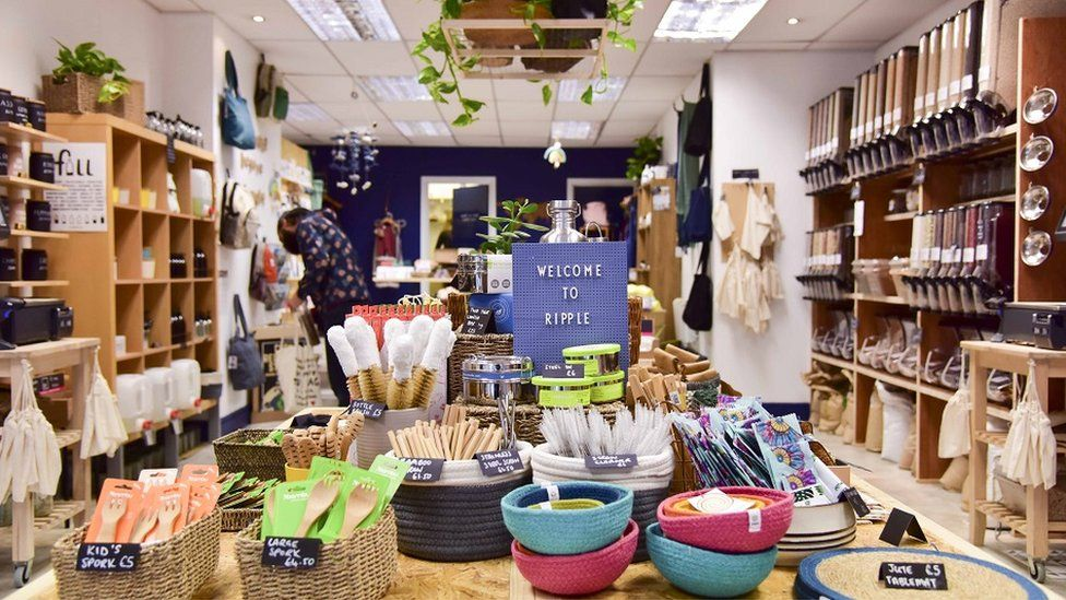 Ripple says it is Cardiff's first zero-waste store Ripple