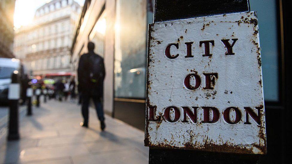 City of London street sign