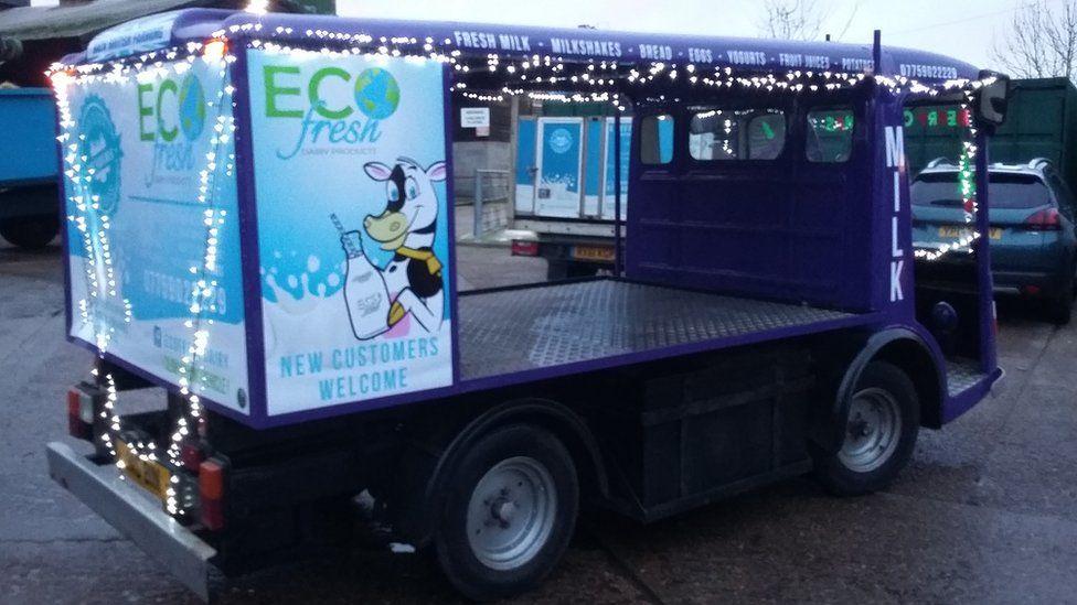 Ecofresh milkfloat