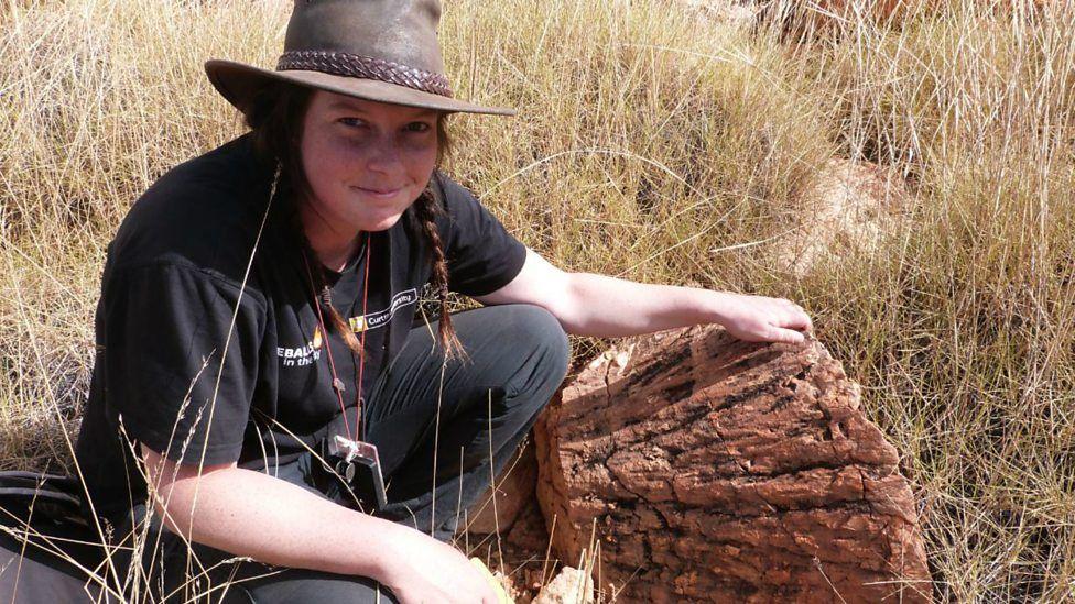 Morgan Cox, la estudiante que por accidente descubrió reidite, un mineral extremadamente raro en la Tierra