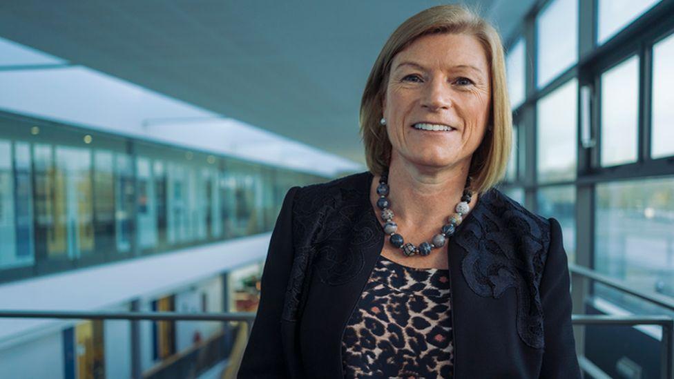 Cardiff Metropolitan University's vice-chancellor, Cara Aitchison