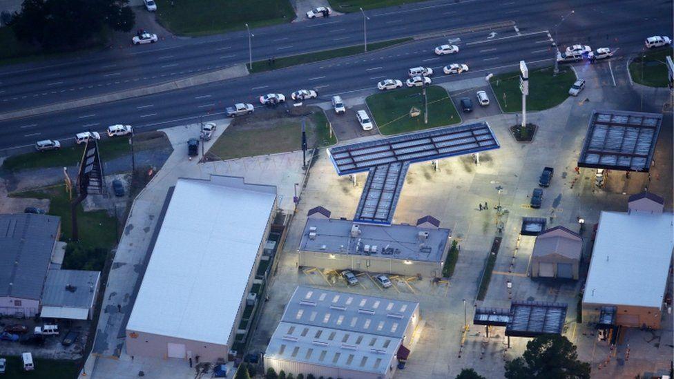 Petrol station, Baton Rouge