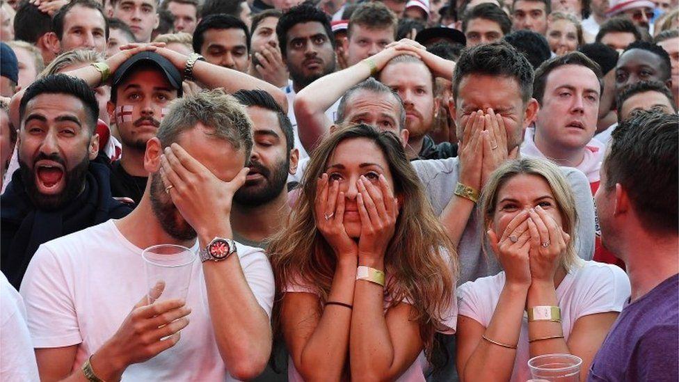 Fans at Hyde Park, London